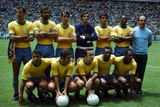 World Cup Final 1970, Brazil vs Italy Photographic Print