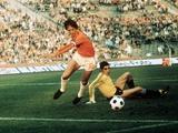 World Cup 1974: Johan Cruyff in Action Lámina fotográfica
