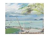 Airlie Beach, Australia Reproduction procédé giclée par Vincent Booth