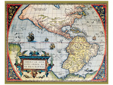 Mapa de América del Norte I Láminas