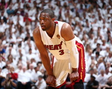 2014 NBA Finals Game Three: Jun 10, Miami Heat vs San Antonio Spurs - Dwayne Wade Foto af Nathaniel S. Butler