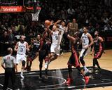 2014 NBA Finals Game Two: Jun 8, Miami Heat vs San Antonio Spurs - Tony Parker Foto af Garrett Ellwood