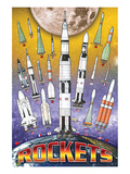 Rockets for Kids Poster