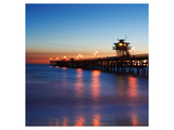 San Clemente Pier Posters by Shane Settle