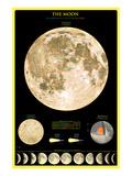 Mond Kunstdrucke