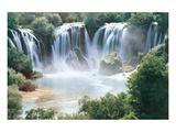Wasserfälle Kunstdrucke
