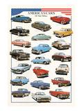American Cars of the Fifties Láminas