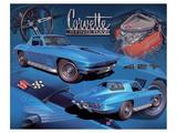 1967 Corvette Póster