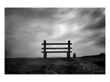 Bench and Clouds Posters av Shane Settle