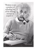 Einstein - Wisdom Poster