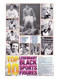 Legendary Black Sports Figures Poster