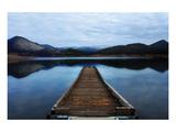Emigrant Lake Dock I Posters av Shane Settle