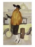 Taxi Lady Affischer av Graham Reynold