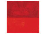 Marilyn Crimson Kunstdrucke von Carmine Thorner