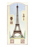 Torre Eiffel, Parigi Poster di Libero Patrignani