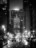 The Metlife Building Towers over Grand Central Terminal by Night Reproduction photographique par Philippe Hugonnard