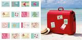 Send me a Postcard Travel Stickers Stickers