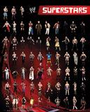 WWE - Superstars Kunstdruck