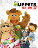 The Muppets Most Wanted - Cast Poster