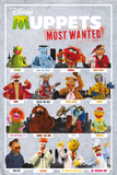 The Muppets Most Wanted - Characters Posters