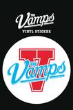 The Vamps - Logo Vinyl Sticker Klistremerker