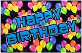 Feliz Aniversário Pôsters