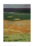 High Tide Near Houlgate Giclée-Druck von Félix Vallotton