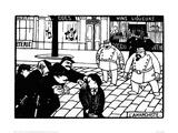 The Anarchist Impressão giclée por Félix Vallotton