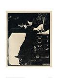 The Flute, 1896 Impressão giclée por Félix Vallotton