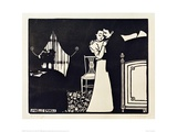 The Lovely Tie Pin Giclée-Druck von Félix Vallotton