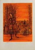 Frau Limitierte Auflage von Jean Carzou