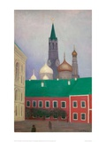 View of the Cremlin in Moscow Giclee Print by Félix Vallotton