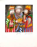 Months : January Collectable Print by Graciela Rodo Boulanger