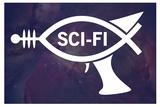 Sci-Fi Fish Humor Arte