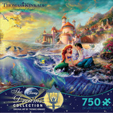 Thomas Kinkade Disney Dreams - The Little Mermaid 750 Piece Jigsaw Puzzle Quebra-cabeça