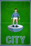 City Football Soccer Sports Print