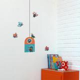 Ladybug Cottage Wall Decal Wall Decal
