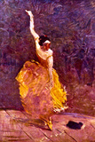 Henri de Toulouse-Lautrec The Dancing Girl ポスター
