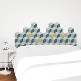Malm Teal Wall Decal Wall Decal