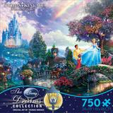 Thomas Kinkade Disney Dreams - Cinderella 750 Piece Jigsaw Puzzle Quebra-cabeça