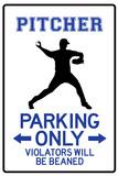 Pitcher Parking Only Láminas