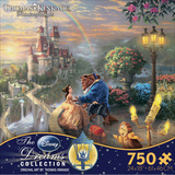 Thomas Kinkade Disney Dreams - Beauty and the Beast 750 Piece Jigsaw Puzzle Quebra-cabeça