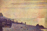 Georges Seurat The Mouth of the Seine at Honfleur, Evening Art