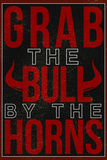Grab the Bull By the Horns Poster