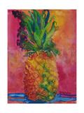 Hot Pink Pineapple Affiches par Blenda Tyvoll