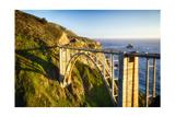 Bixby Creek Bridge, Big Sur California Photographic Print by George Oze