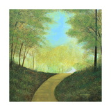 Winding Road Plakat av Herb Dickinson