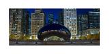 The Bean At Millennium Park Chicago Fotografisk tryk af Steve Gadomski