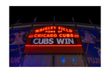 Cubs Win Photographic Print by Steve Gadomski