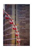 Navy Pier Wheel Chicago Fotografie-Druck von Steve Gadomski